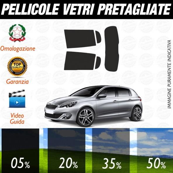 Renault Megane 09-15 Pellicole Oscuramento Vetri Auto Pre Tagliate a Misura Posteriore