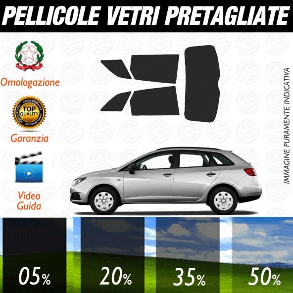 Seat Ibiza 5P 08-17 Pellicole Oscuramento Vetri Auto Pre Tagliate a Misura Posteriore