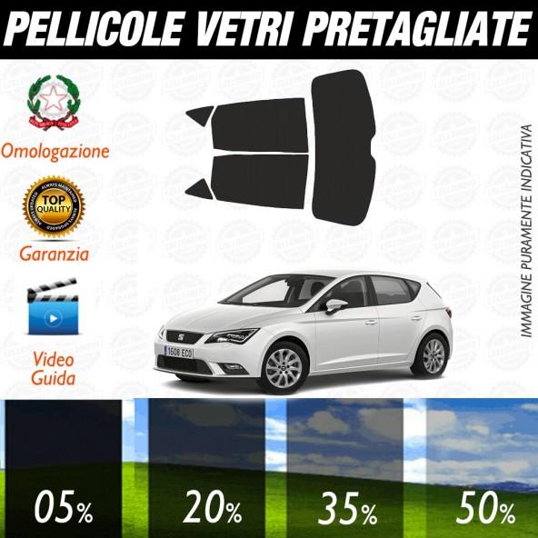 Seat Leon Sc 13-17 Pellicole Oscuramento Vetri Auto Pre Tagliate a Misura Posteriore