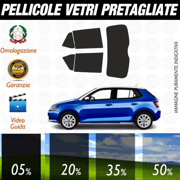 Seat Leon ST 14-17 Pellicole Oscuramento Vetri Auto Pre Tagliate a Misura Posteriore