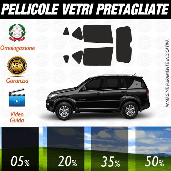Smart ForFour 15-17 Pellicole Oscuramento Vetri Posteriori Auto Pre Tagliate a Misura
