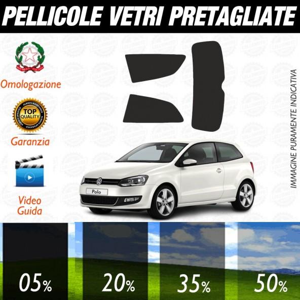 Volkswagen Golf 7 3P 13-17 Pellicole Oscuramento Vetri Posteriori Auto Pre Tagliate a Misura
