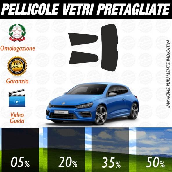 Volkswagen Polo Cross 5P 11-17 Pellicole Oscuramento Vetri Posteriori Auto Pre Tagliate a Misura