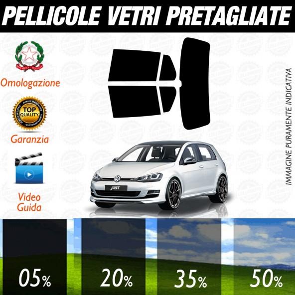 Volkswagen Golf 7 / GTI 5P 13-15 Pellicole Oscuramento Vetri