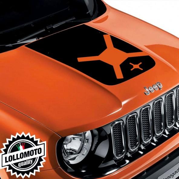 Striscia Adesiva Cofano Jeep Renegade  Suzuki Offroad Adesivi Stickers Fiancate Aut Decal