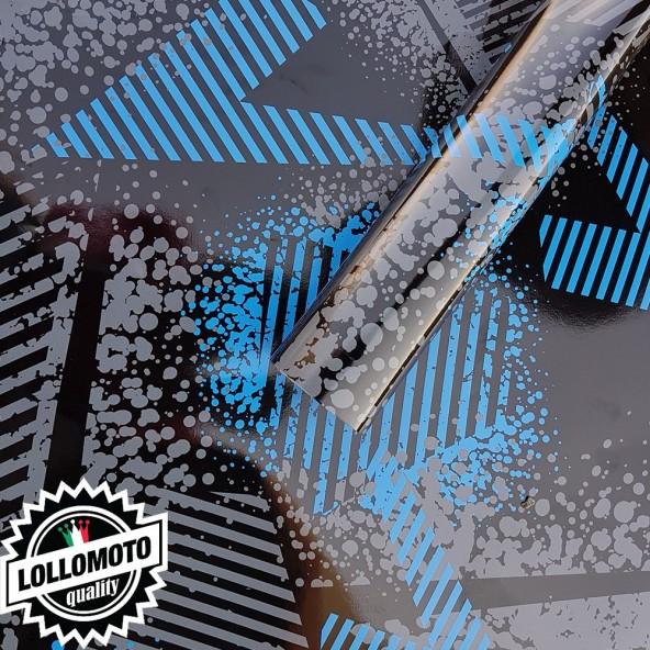 Street Camo Azzurro Pellicola Adesiva Mimetica Car Wrapping Adesiva Rivestimento Auto Moto