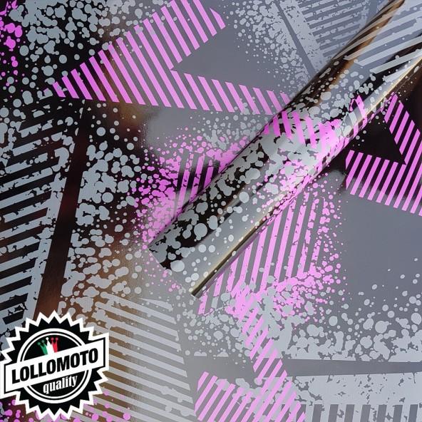 Street Camo Rosa Pellicola Adesiva Mimetica Car Wrapping Adesiva Rivestimento Auto Moto
