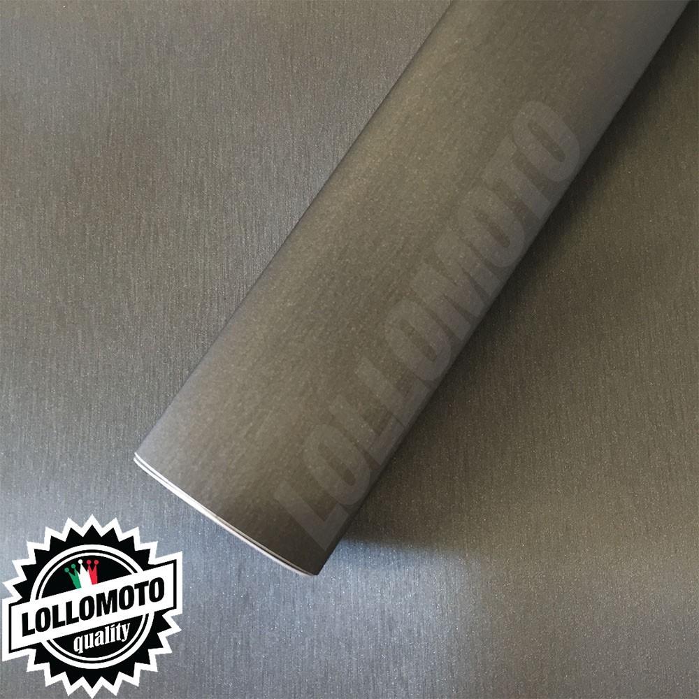 Titanio Spazzolato Pellicola Adesiva Auto Car Wrapping