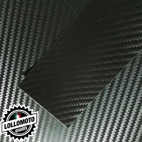Carbonio 3D Nero Pellicola Cast Professionale Adesiva