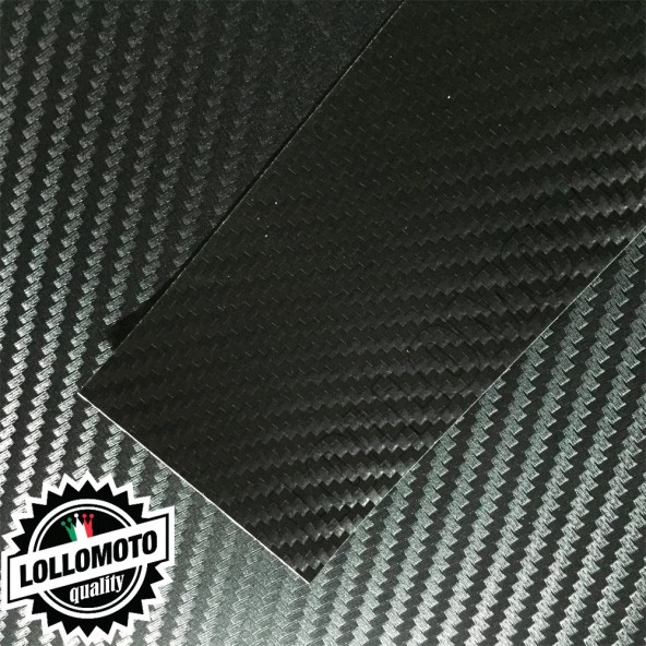 Carbonio 3D Nero Pellicola APA® Cast Professionale Adesiva Rivestimento Car Wrapping
