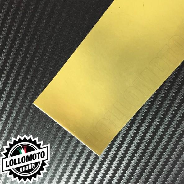 Cromato Oro Opaco Pellicola APA® Cast Professionale Adesiva Rivestimento Car Wrapping