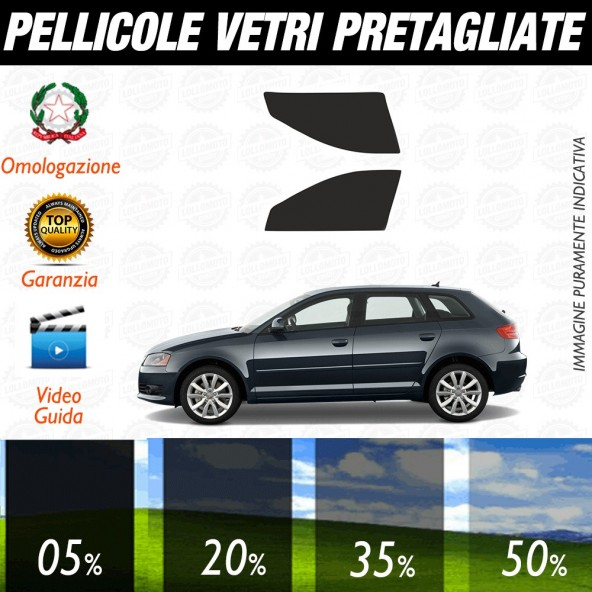 Audi A5 Cabrio 10-15 Pellicole Oscuramento Vetri Anteriori Auto Pre Tagliate a Misura