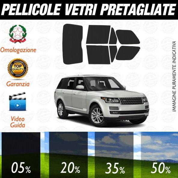 Land Rover Range Rover 03-12 Pellicole Oscuramento Vetri Auto Pre Tagliate a Misura