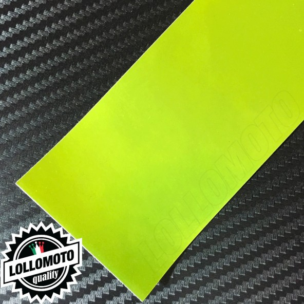 Cromato Lime Opaco Pellicola APA® Cast Professionale Adesiva Rivestimento Car Wrapping