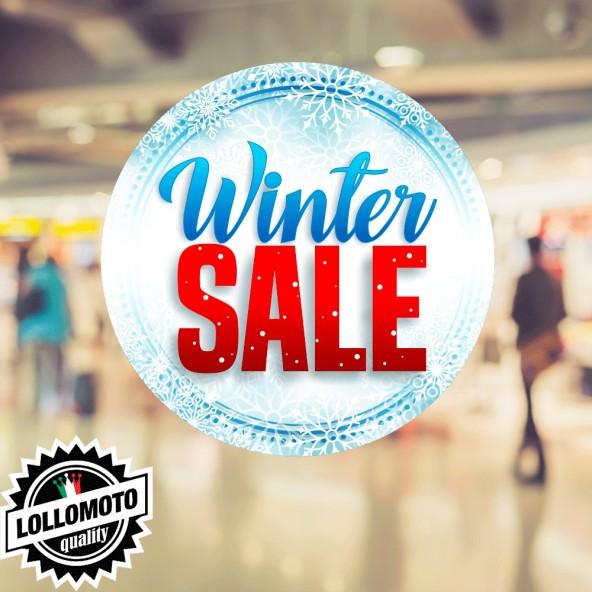 Adesivo Vintage Sale Feste Natale Saldi Allestimento Decorazione Vetrine Commerciali Adesivi Stickers Decal