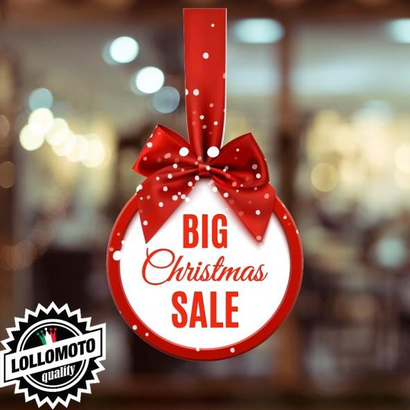 Adesivo Ice Sale Feste Natale Saldi Allestimento Decorazione Vetrine Commerciali Adesivi Stickers Decal