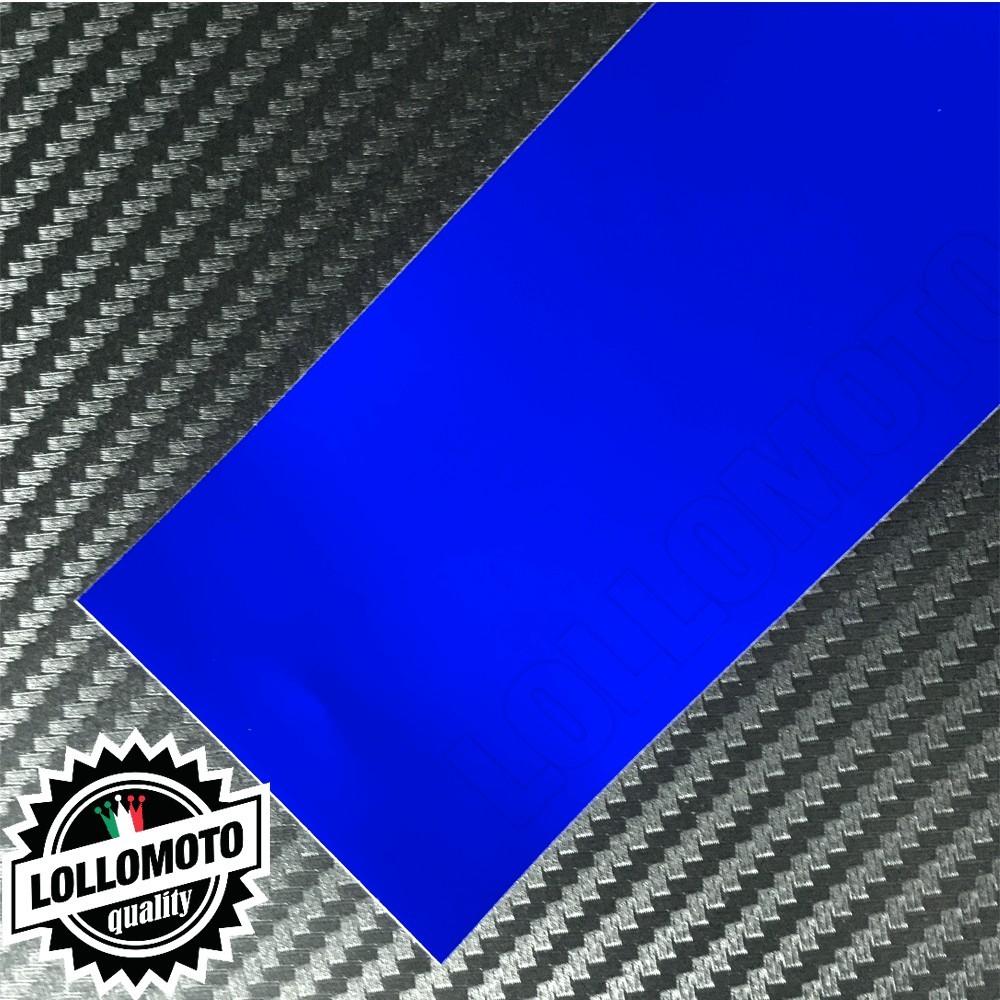 Cromato Blue Opaco Pellicola Cast Professionale Adesiva