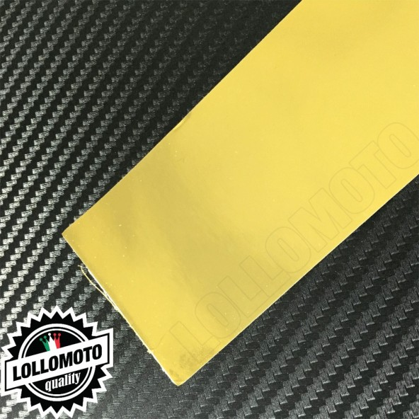Cromato Oro Lucido Pellicola APA® Cast Professionale Adesiva Rivestimento Car Wrapping