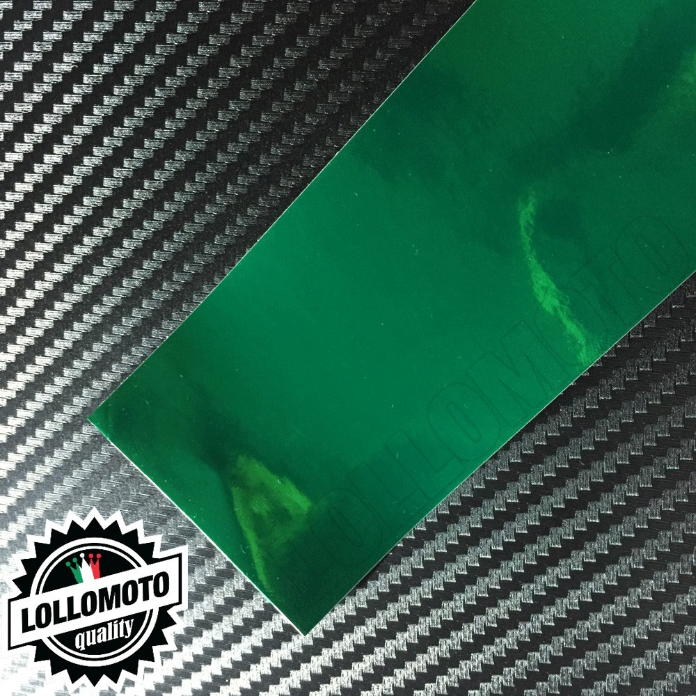 Cromato Verde Lucido Pellicola Cast Professionale Adesiva