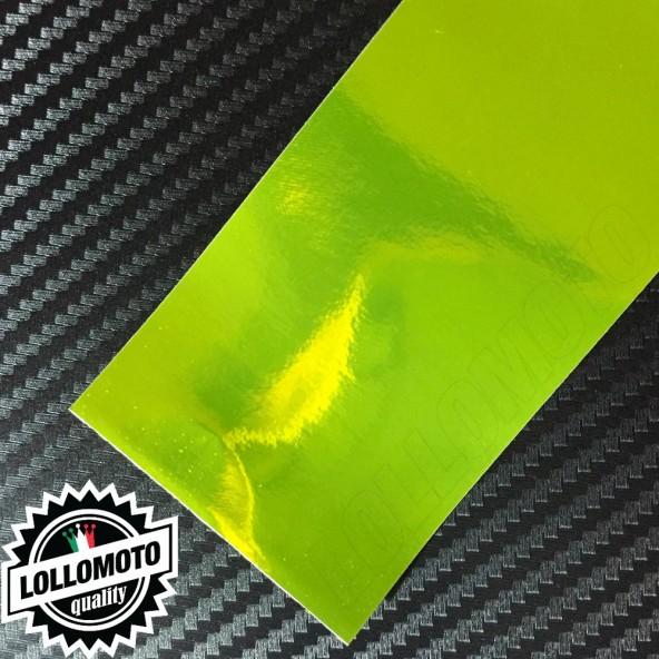Cromato Lime Lucido Pellicola APA® Cast Professionale Adesiva Rivestimento Car Wrapping