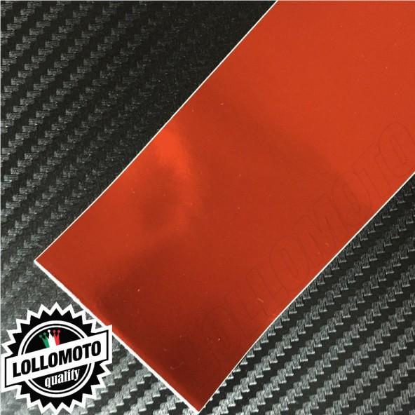 Cromato Rosso Lucido Pellicola Cast Professionale Adesiva