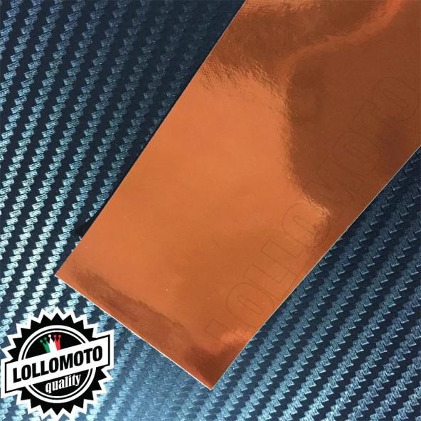 Cromato Coopper Lucido Pellicola APA® Cast Professionale Adesiva Rivestimento Car Wrapping Wrap