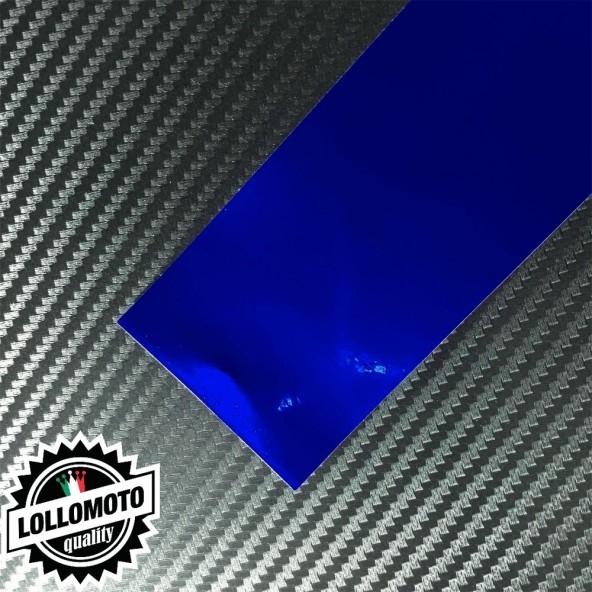 Cromato Blue Lucido Pellicola Cast Professionale Adesiva