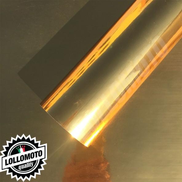 Cromata Oro Pellicola Adesivo Auto Car Wrapping