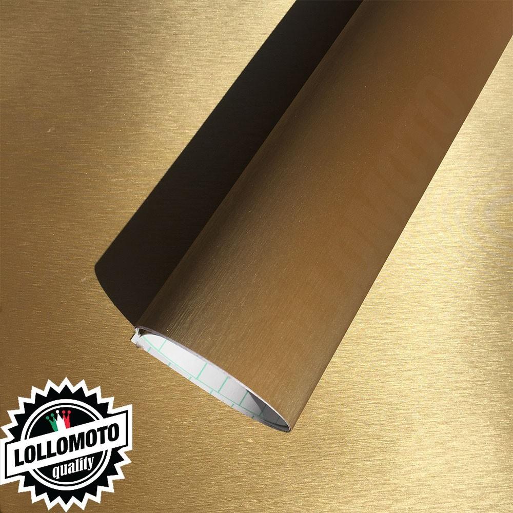 Satinata Oro Pellicola Adesiva Auto Car Wrapping
