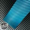 Carbonio 3D Blue Pellicola Cast Professionale Adesiva