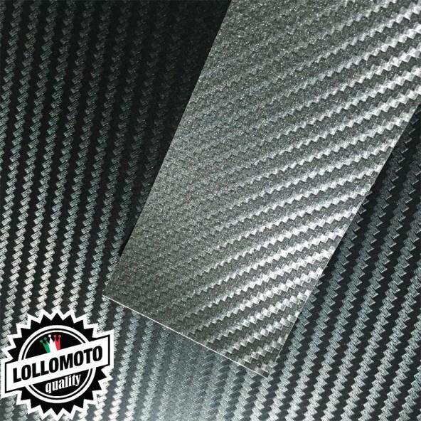 Carbonio 3D Antracite Pellicola Cast Professionale Adesiva