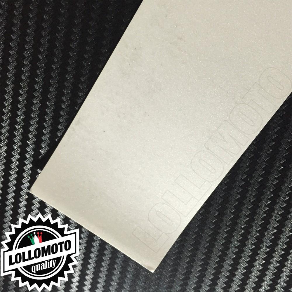 Bianco Opaco Satinato Metal Pellicola Cast Professionale