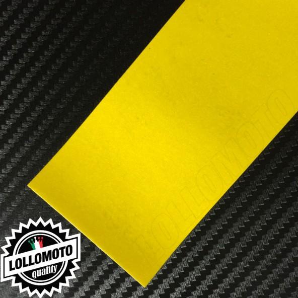 Giallo Opaco Satinato Metal Pellicola Cast Professionale