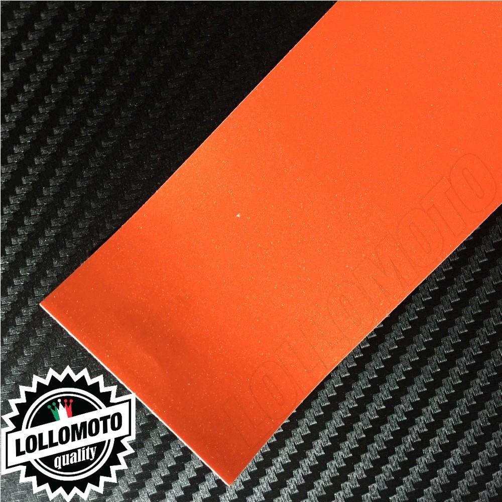 Arancione Lucido Perlato Pellicola Cast Professionale Adesiva
