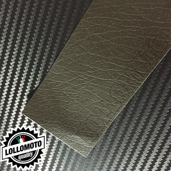 Pelle Marrone Bison Pellicola APA® Cast Professionale Adesiva Rivestimento Car Wrapping