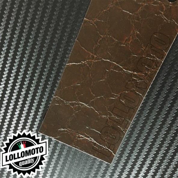 Pelle Marrone Antico Pellicola APA® Cast Professionale Adesiva Rivestimento Car Wrapping
