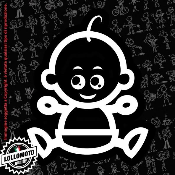 Nonna Cuoca StickMan© 2.0 Bianchi e Neri Adesivi Famiglia Vetro Auto Stickers Family Stickers Family Decal