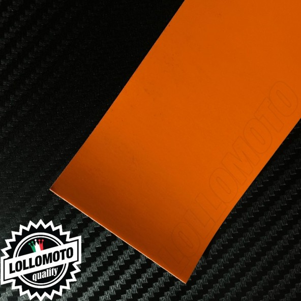 Arancione Opaco Pellicola Cast Professionale Adesiva
