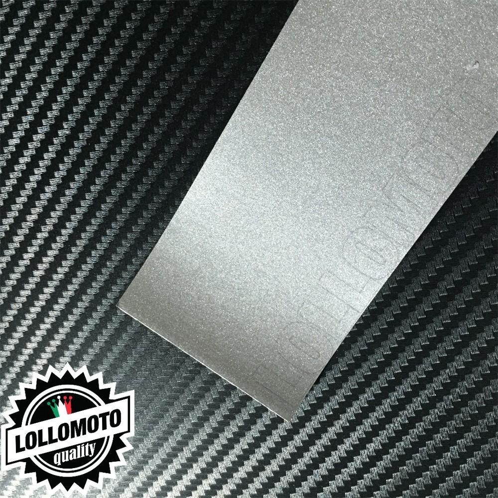 Silver Opaco Satinato Metal Pellicola Cast Professionale