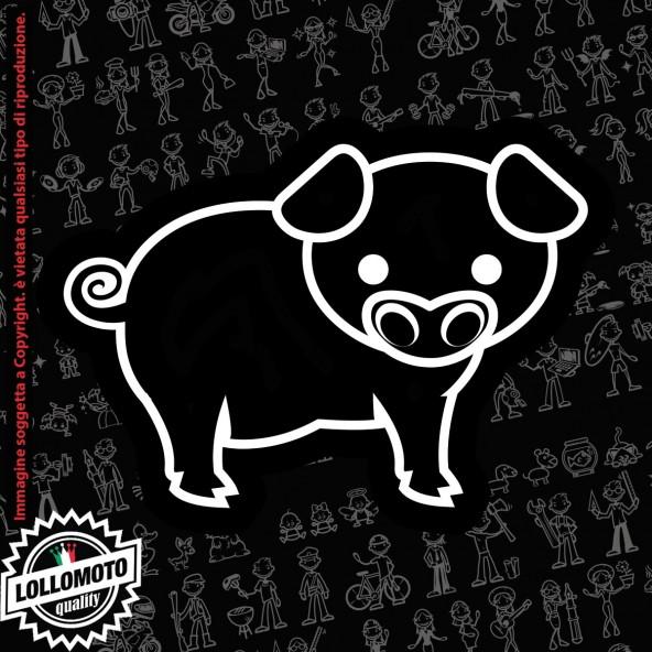 Ragazza Rugby StickMan© 2.0 Bianchi e Neri Adesivi Famiglia Vetro Auto Stickers Family Stickers Family Decal