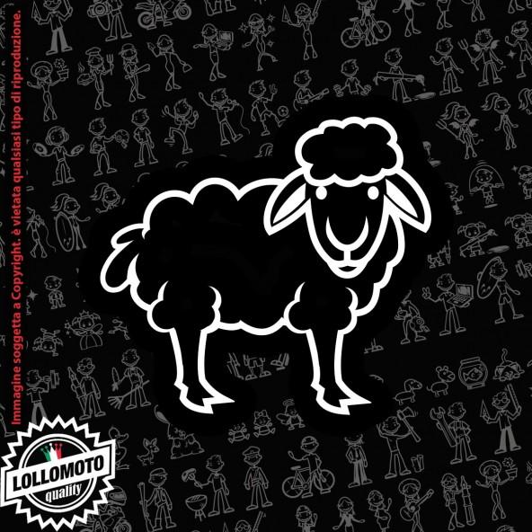 Topolino StickMan© 2.0 Bianchi e Neri Adesivi Famiglia Vetro Auto Stickers Family Stickers Family Decal