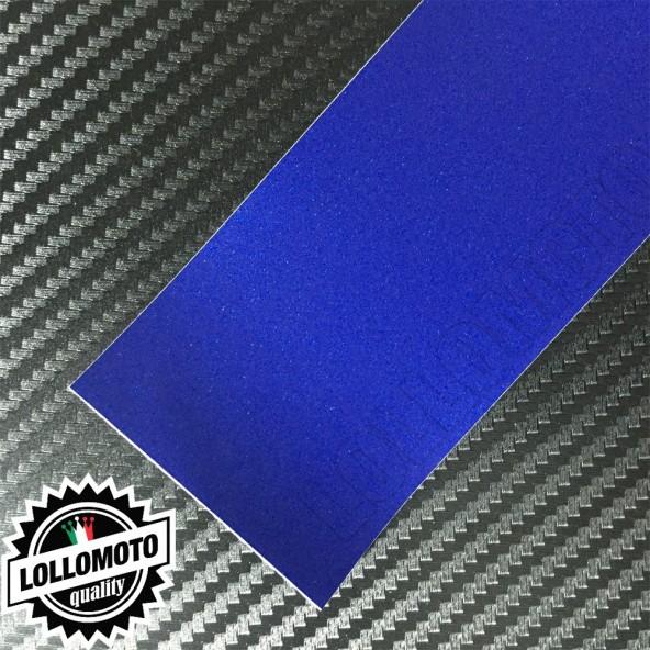 Blu Oceano Opaco Satinato Metal Pellicola Cast Professionale
