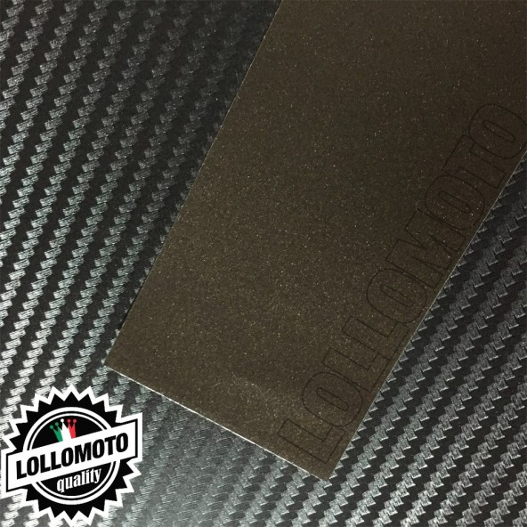 Marrone Opaco Satinato Metal Pellicola Cast Professionale