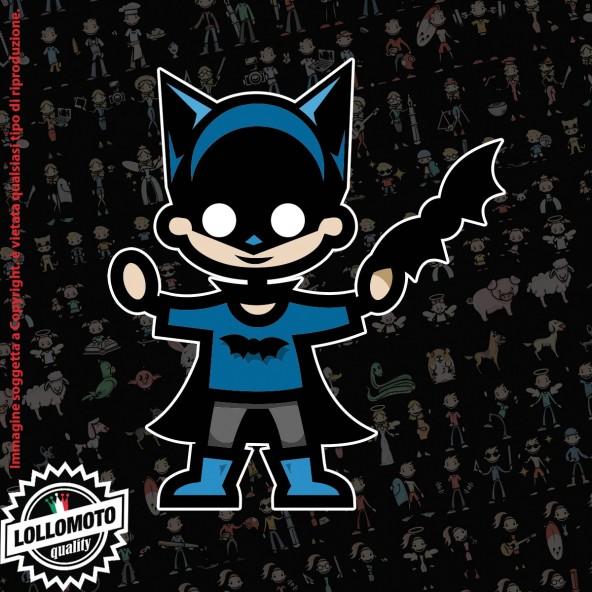 Bambino Pipistrello StickMan© 2.0 Colorati Adesivi Famiglia Vetro Auto Stickers Family Stickers Family Decal