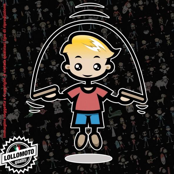 Bambino Arti Marziali StickMan© 2.0 Colorati Adesivi Famiglia Vetro Auto Stickers Family Stickers Family Decal
