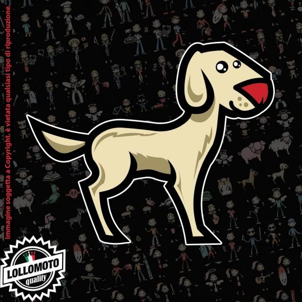 Cane Labrador StickMan© 2.0 Colorati Adesivi Famiglia Vetro Auto Stickers Family Stickers Family Decal