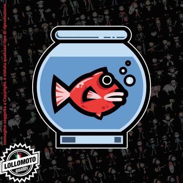 pesce in acquario StickMan© 2.0 Colorati Adesivi Famiglia Vetro Auto Stickers Family Stickers Family Decal