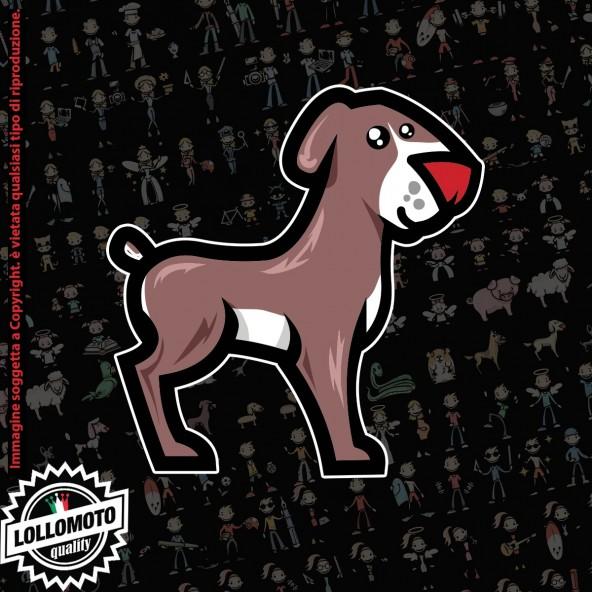 Cane Media Taglia StickMan© 2.0 Colorati Adesivi Famiglia Vetro Auto Stickers Family Stickers Family Decal