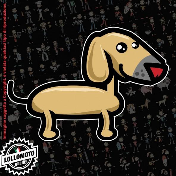 Cane Bassotto StickMan© 2.0 Colorati Adesivi Famiglia Vetro Auto Stickers Family Stickers Family Decal