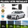 Audi A6 Berlina 10-16 Pellicole Oscuramento Vetri Auto Pre
